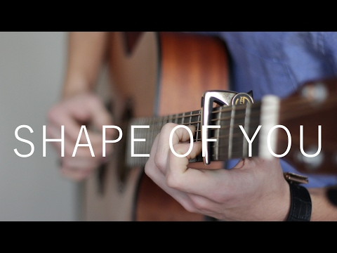 Shape Of You - Ed Sheeran (Fingerstyle Guitar Cover by Vadim Kobal)