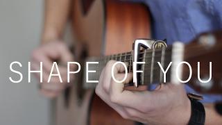 Shape Of You - Ed Sheeran (Fingerstyle Guitar Cover by Vadim Kobal) FREE TABS