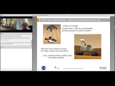 Robotic Systems for OSIRIS-REx, Asteroid Redirect and Mars 2020 Missions