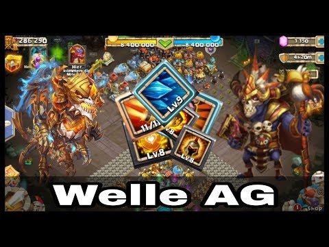 Castle Clash - Welle AG Bei Sasuke90 - [ja©kAss]