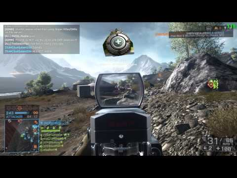 Battlefield 4 China Rising - Altai Range Rush L85A2 gameplay with tactics and tips