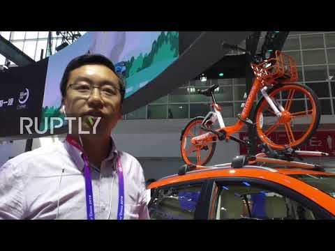 Chinese bike-sharing app Mobike turns to cars at Beijing Motor Show