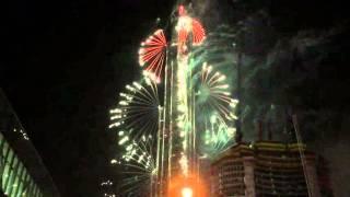 Burj Khalifa Dubai Fireworks 2016!