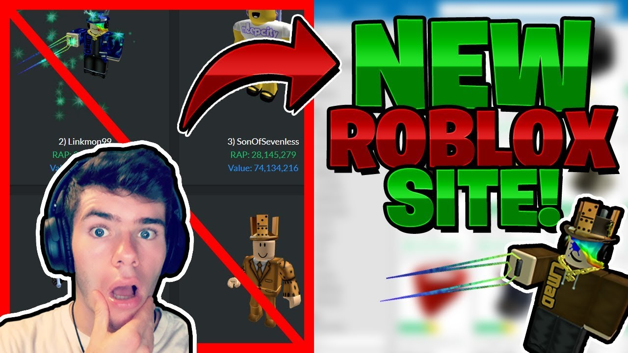 My New Roblox Website Announcement Rbx Rocks Replacement