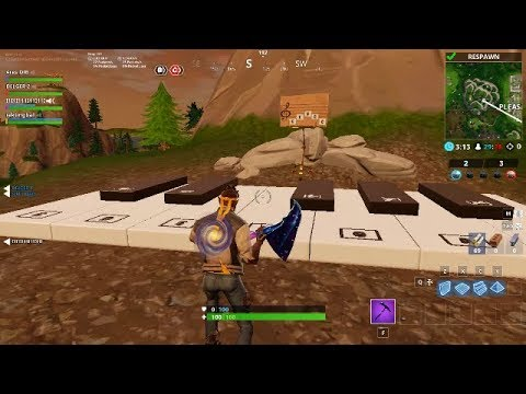 Play The Sheet Music At The Piano Near Pleasant Park