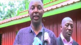 Seneta Irungu Kang'ata kuuga niaraheo mikaana ni ngavana Mwangi wa Iria