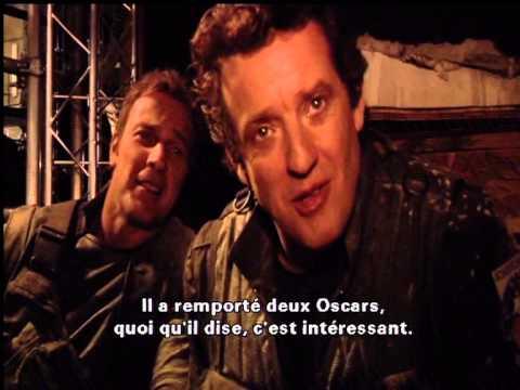 Stargate Universe: Louis Vs The Colonel Young (funny)