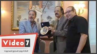 غرفة صناعة السينما تكرم يوسف شعبان ب مهرجان الإسكندرية السينمائى