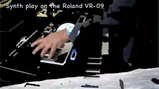 Roland V-Combo VR-09  (Synth side)