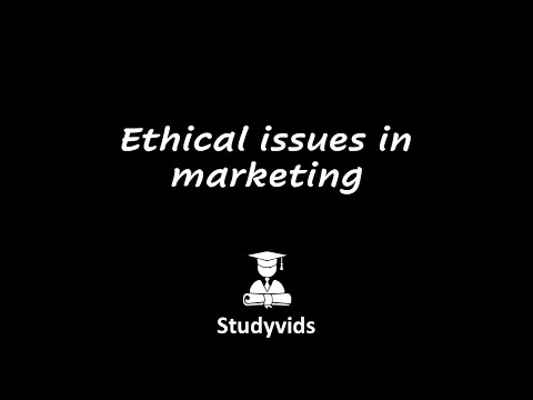 ethical issues in marketing vulnerable customer groups Ethical issues in business include concerns of quality, value and honesty as well as the category of corporate responsibility to be dishonest in what ingredients are included, where they originated or where a good was made is an example of poor business ethics and a lack of corporate responsibility.