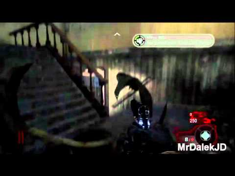 Call of Duty Black Ops - Kino Der Toten Glitch - 2 Man Zombie Barrier Tutorial