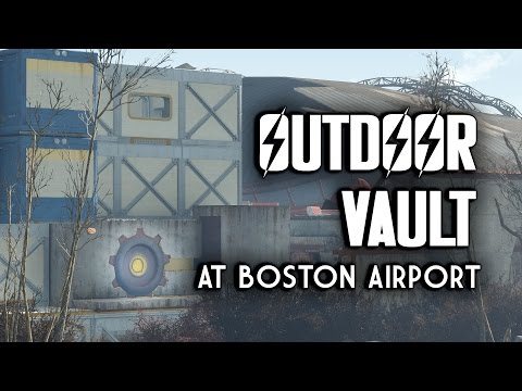 Let's Build an Outdoor Vault at Boston Airport - Fallout 4