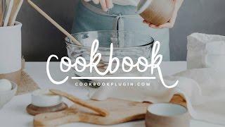 Cookbook Plugin Intro