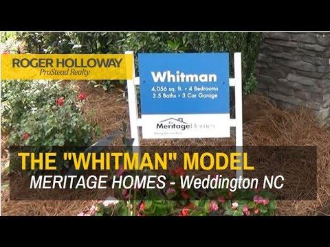 Meritage Homes' WHITMAN Model Home Tour - Falls at Weddington