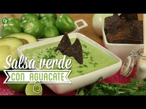 C mo preparar salsa verde con aguacate cocina fresca - Como cocinar judias verdes frescas ...