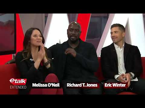 Melissa O'Neil, Richard T. Jones and Eric Winter discuss their new show #TheRookie
