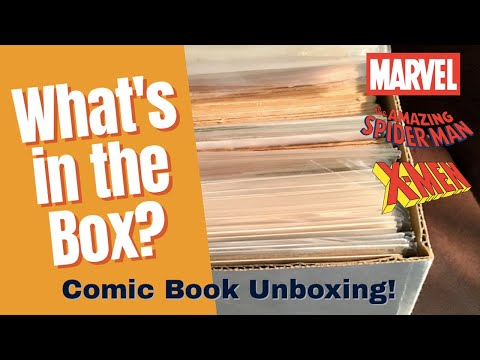 Unboxing Comics | A mostly Marvel box that's mostly Spider-Man and X-Men —what's not to love?
