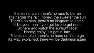 No Plan- Hozier Lyrics