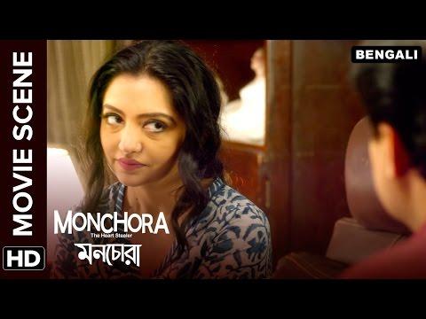 Saswata Chatterjee has to prove his love to June Malia | Monchora | Movie Scene