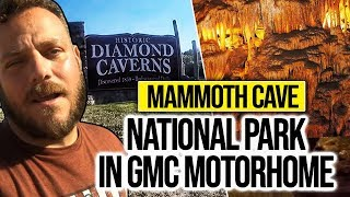 RV Living On The Road Full Time Mammoth Cave National Park In GMC Motorhome