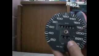ремонт (разборка) счётчика спидометра АУДИ 100 С 4