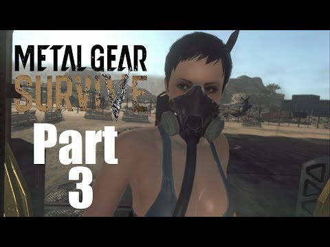 "Metal Gear Survive Walkthrough Gameplay Part 3 ""Nurse Hang On!!!"""