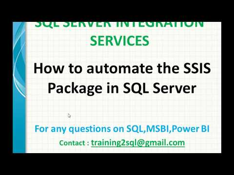 Automate The SSIS Package Execution In SQL Server | Schedule SSIS Package