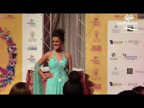 Candidatas a Reina del Carnaval 2017 de Las Palmas de Gran Canaria