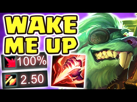 RAT-A-TAT-TAT THEIR BOOTYHOLES!! 100% CRIT TWITCH JUNGLE IS BROKEN | MY SINGING VOICE - Nightblue3