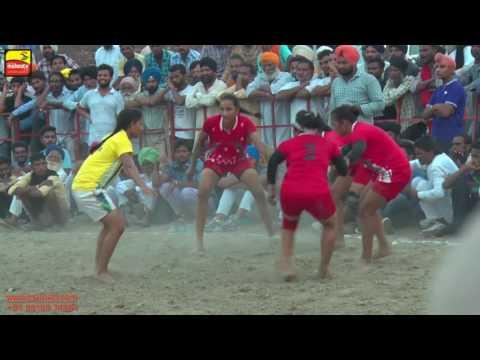 NANGLI (Amritsar)   KABADDI  - 2016   PUNJAB vs HARYANA Girls    Full HD   Part 2nd