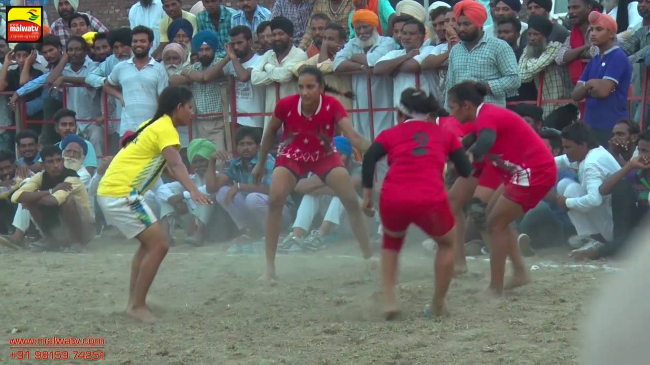 NANGLI (Amritsar) | KABADDI  - 2016 | PUNJAB vs HARYANA | Full HD | Part 2nd
