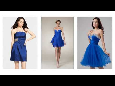 Top 100 Most beautiful blue cocktail dresses for women