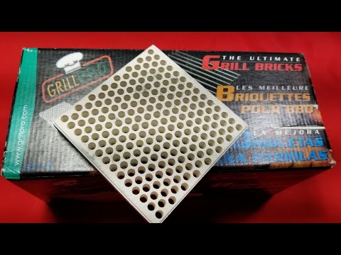 Grill Pro Ceramic BBQ Grill Thermal Bricks Review