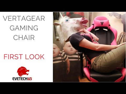 The Vertagear gaming chair gets Unicorn approval