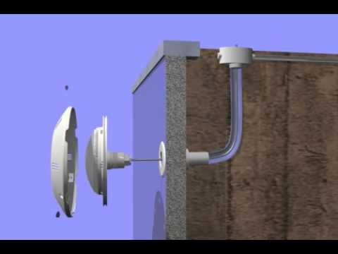 Instalaci n foco extraplano productos qp s a youtube for Esquema piscina