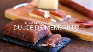 Dulce de Membrillo (Sweet Quince Paste or Quince Cheese)