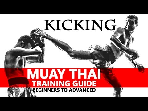 Muay Thai Training Guide. Beginners to Advanced: Kicking
