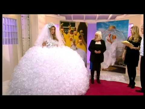 Elaborate wedding dresses from the Gypsy Wedding tv series