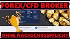 Forex/CFD Broker ohne Nachschusspflicht - Die Empfehlung für das Trading