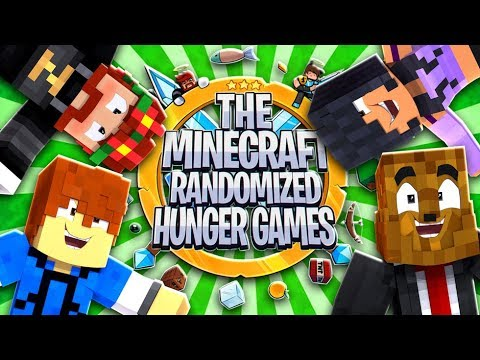 The Minecraft Randomized Hunger Games! #3 - Minecraft Modded Minigames | JeromeASF