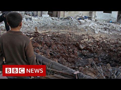 Syria war: Strikes