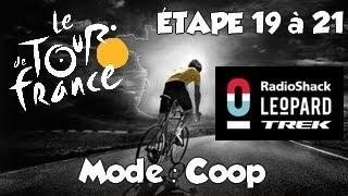 Tour de France 2013 | Mode Coop | Etape 19 à 21 : La dernière ligne droite !  [HD] [Fr]