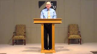 HCU Chapel with Dr. Bill Bagents
