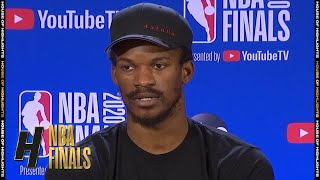 Jimmy Butler Full Interview - Game 2 Preview | Lakers vs Heat | 2020 NBA Finals