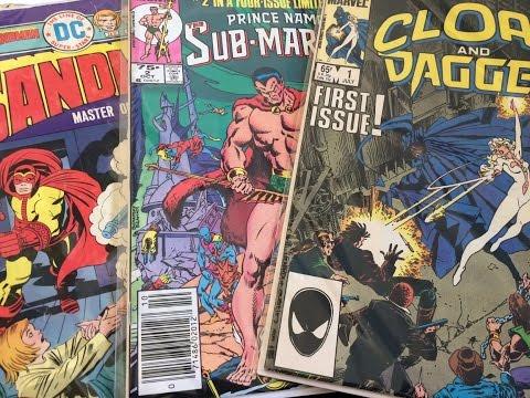 Beyond the Covers #8: Sandman, Sub-Mariner, Cloak & Dagger