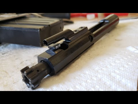 Disassembling, Cleaning, and Lubricating your Bolt Carrier Group