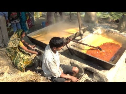 How To Make Patali Gur/Nalen Gur (Dates Palm Jaggery) Of Bengal, India | Awesome Indian Village Food