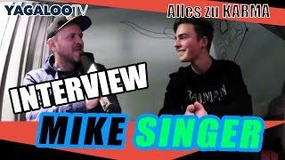 """Mike Singer im Interview bei YAGALOO zu """"Egal"""" und dem Album """"Karma"""""""
