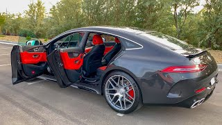 2019 Mercedes AMG GT 63 4-Door Coupe 4Matic - Startup, Exhaust and Review