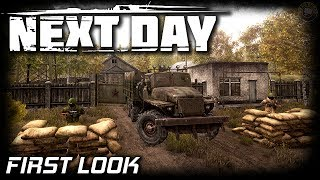 Next Day Survival Open World | First Look | EP1 | Next Day: Survival Gameplay